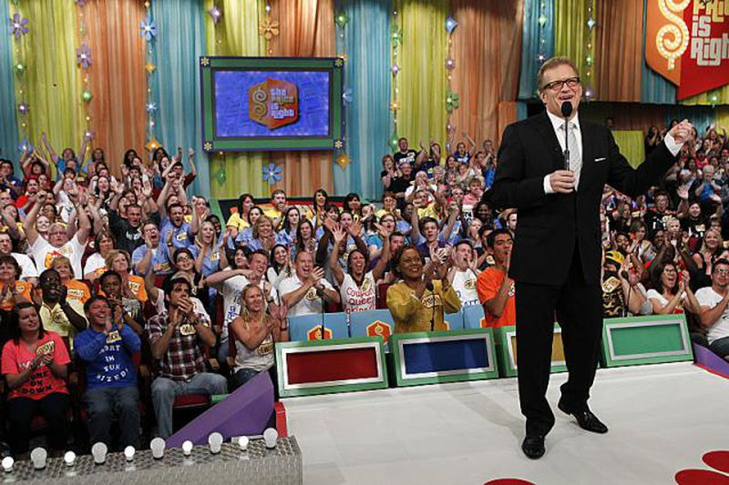 Celebrity game show contestants audition