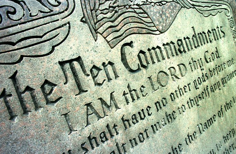 Ten Commandments Sculpture Lawsuit