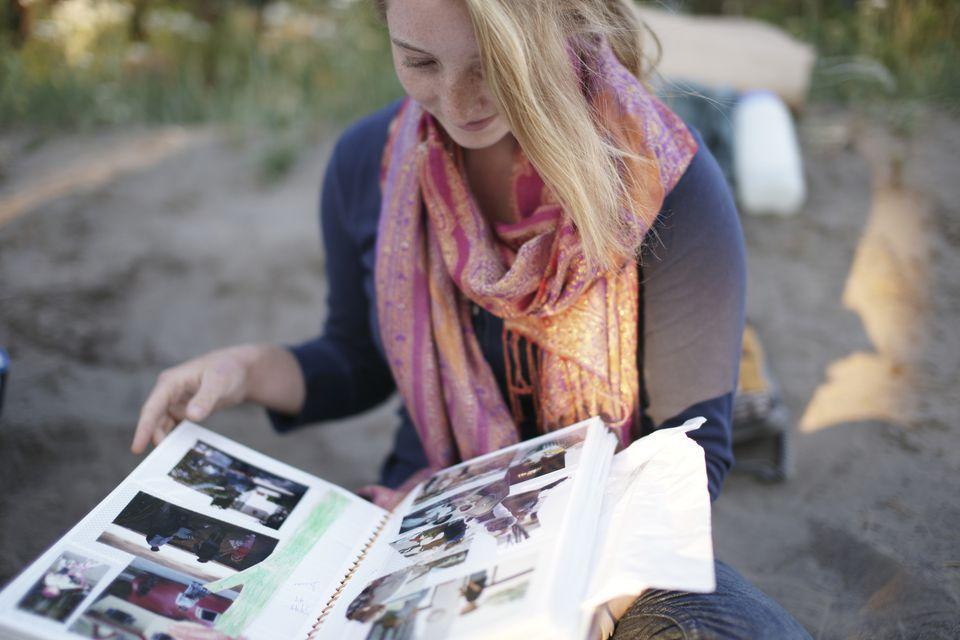 Sweet Sixteen Gift Ideas -- Scrapbook
