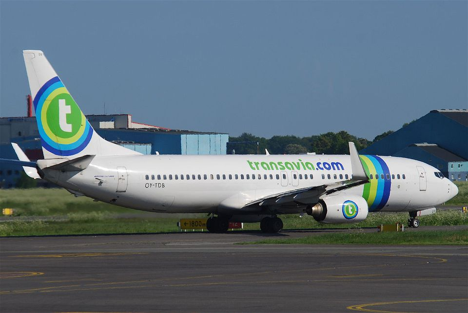 transavia airplane