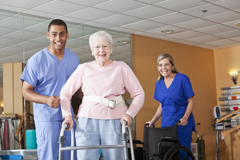Rehabilitation from a Hip Fracture in Dementia