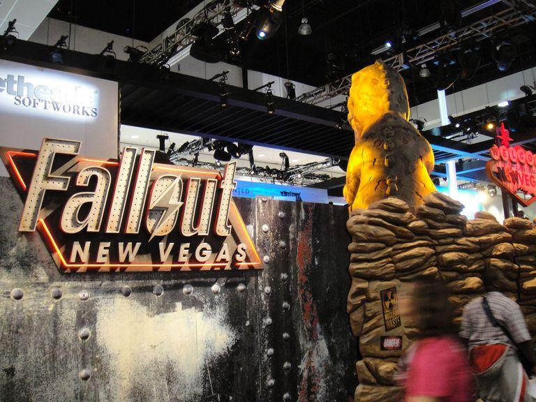 E3 2010 Bathesda games Fallout New Vegas booth