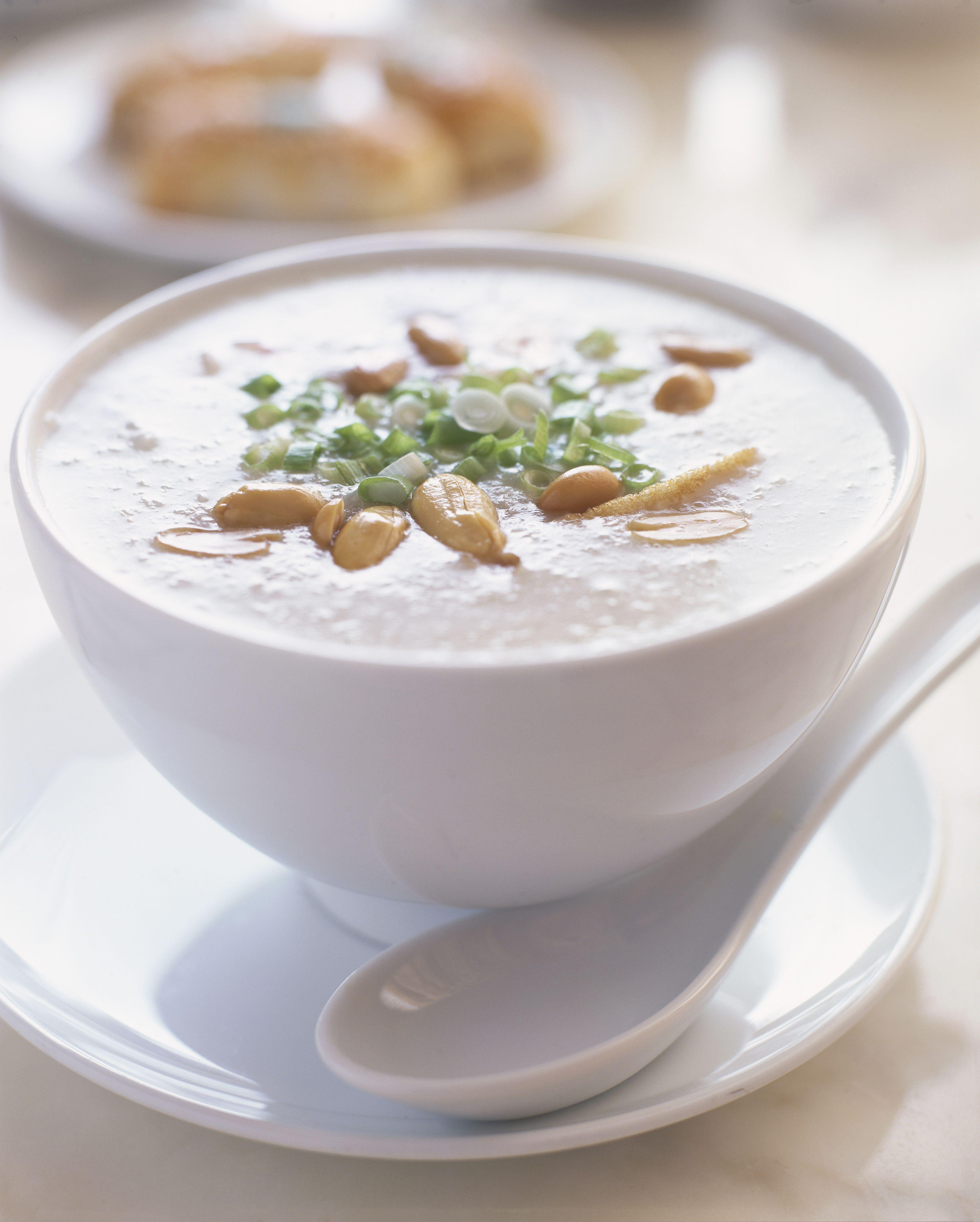Vegetarian Thai Coconut Vegetable Soup Recipe