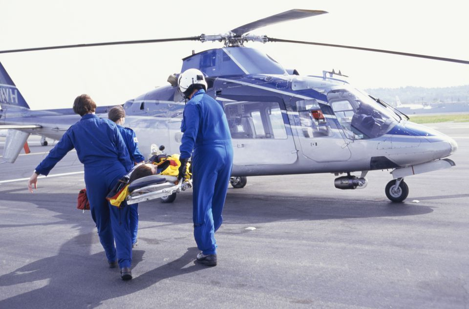Helicopter evacuation