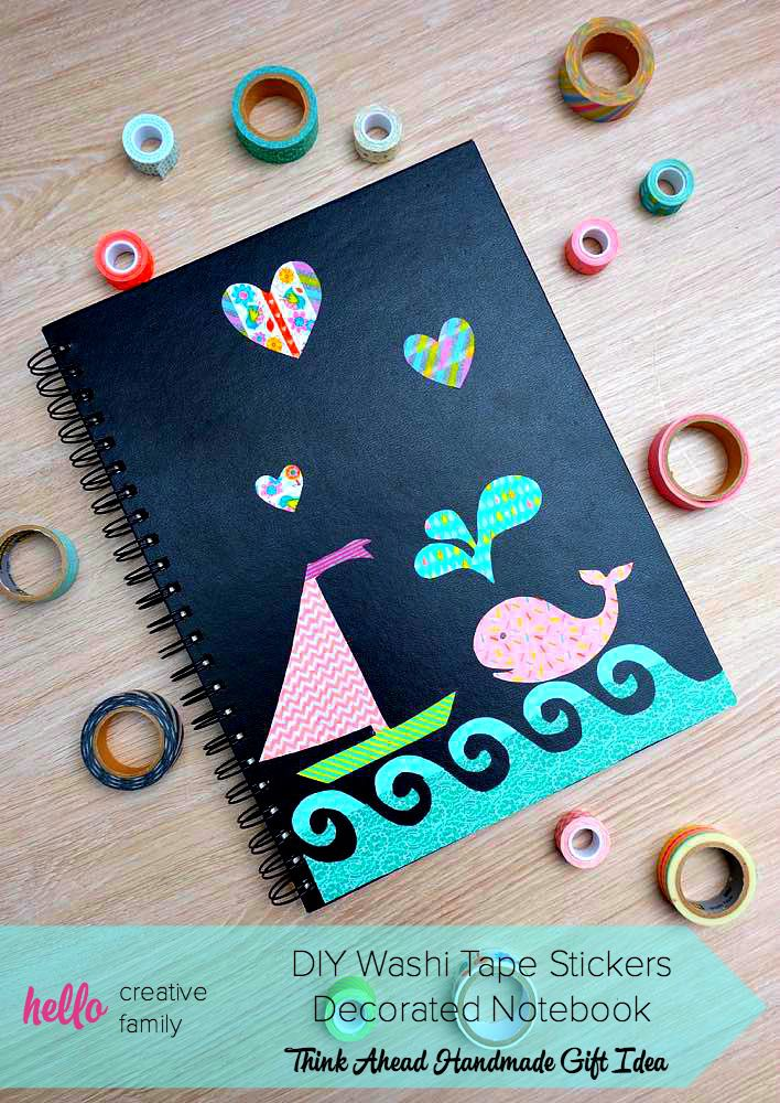 Creative Design To Cover Notebook : Ways to decorate a notebook