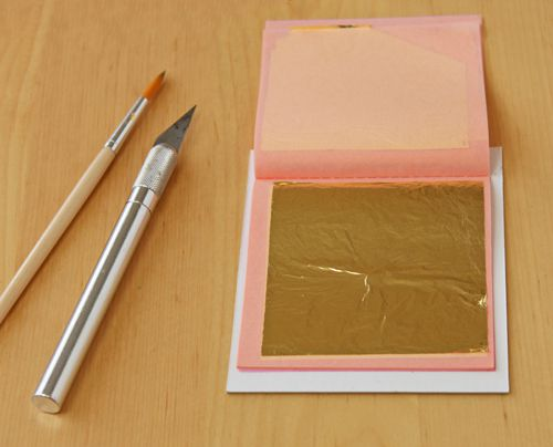 How to Use Gold Leaf