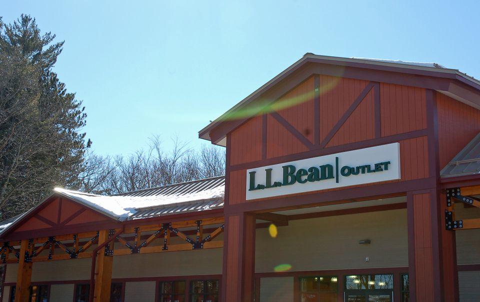 L.L. Bean Outlet Store - A Favorite New England Shopping Destination