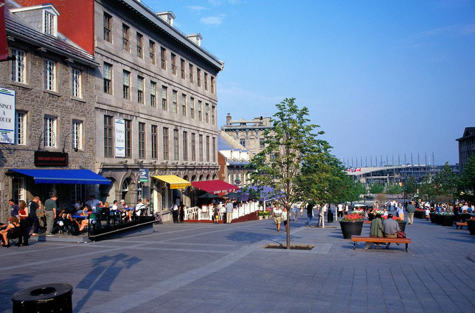 Place Jacques-Cartier in Old Montreal