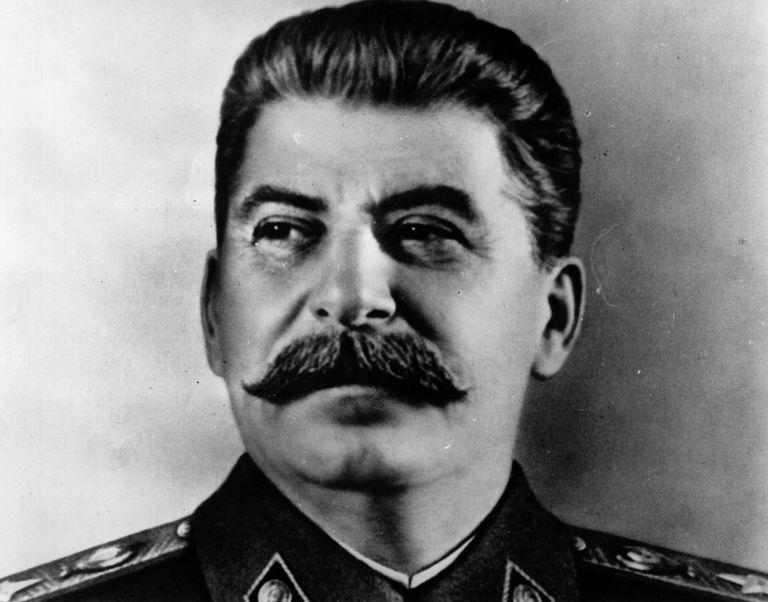 Portrait Of Stalin