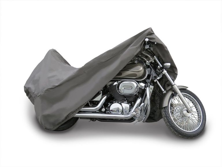 covered motorcycle