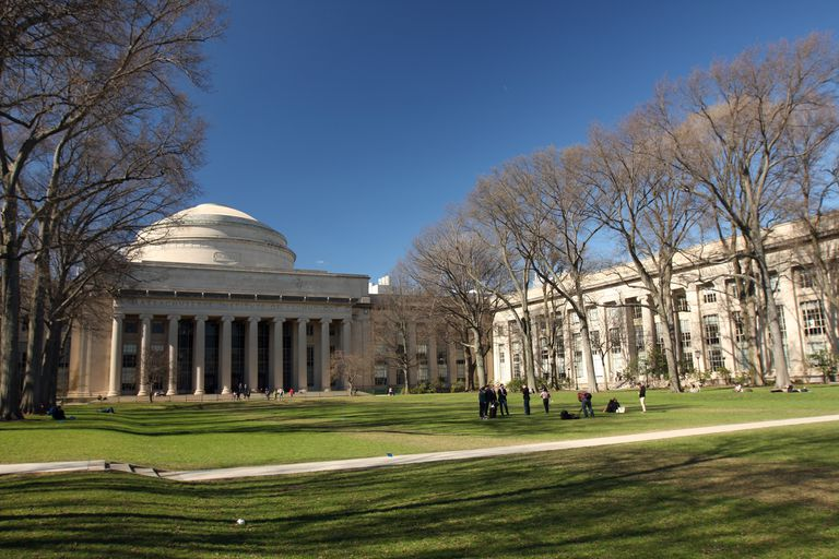 Killian Court and the Great Dome at MIT