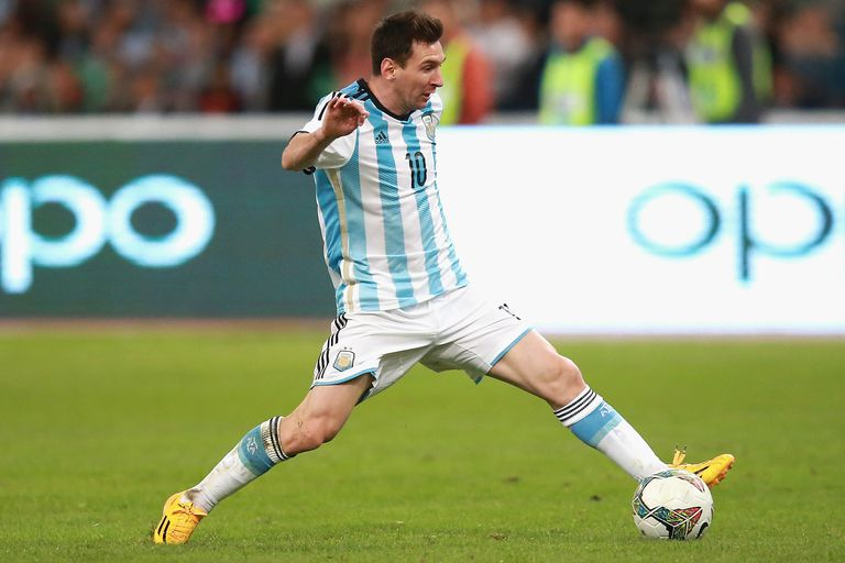 Lionel Messi faces Brazil