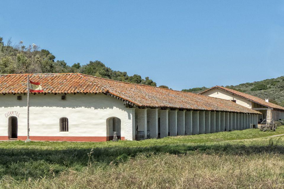 Exterior View, La Purisima Mission