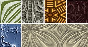 Screenshot of six Vasco Basque Photoshop textures
