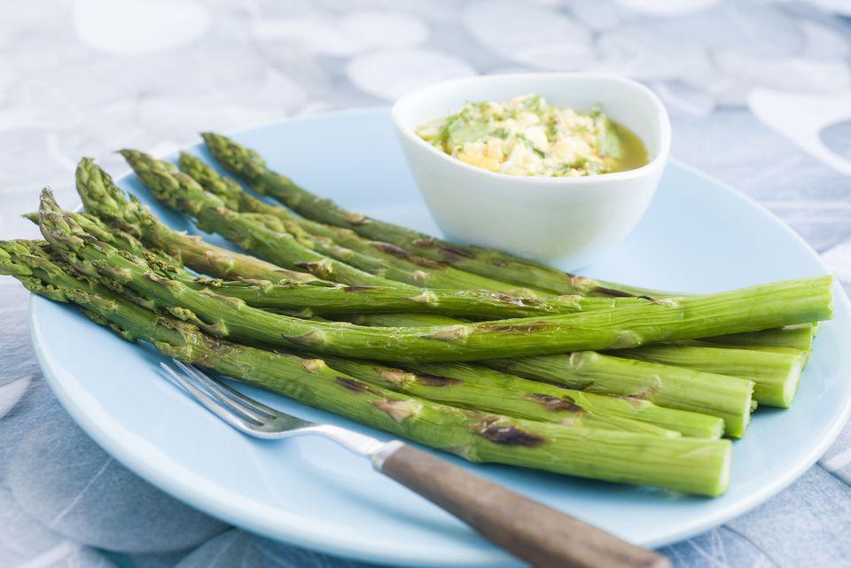 Asparagus With Gribiche Sauce