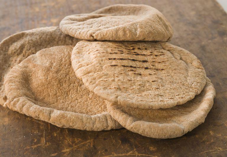 healthy pita bread