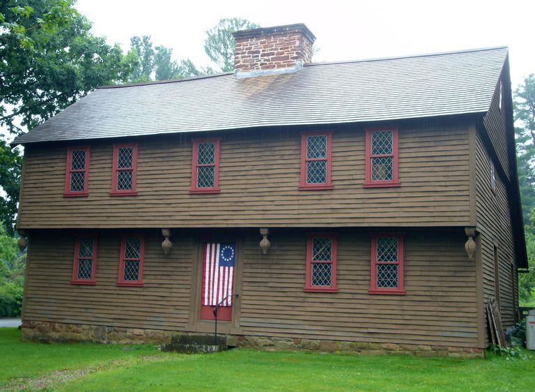 Stanley-Whitman House in Farmington, Connecticut, circa 1720
