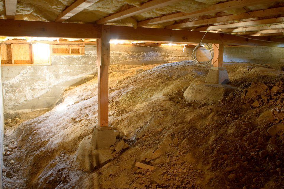 Crawlspace Under House - 157191299