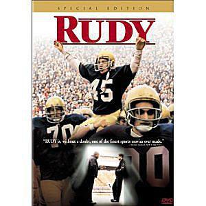 Rudy on DVD