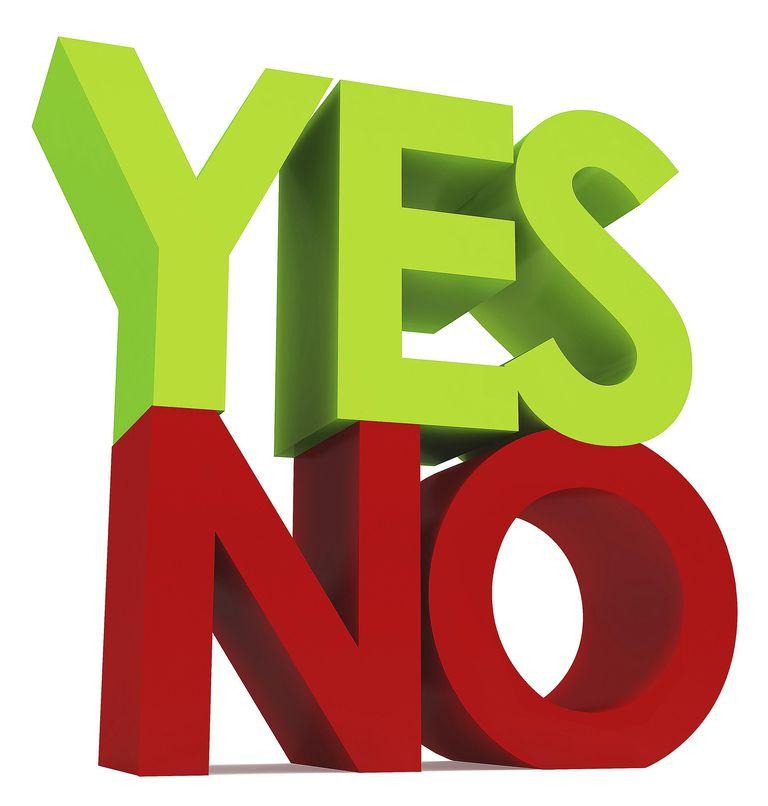 morphemes yes and no