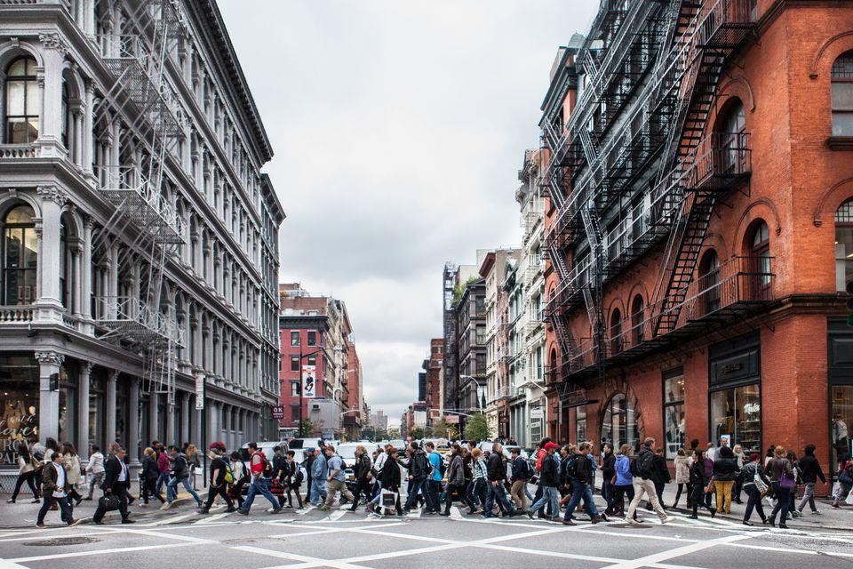 Streets of SoHo NYC