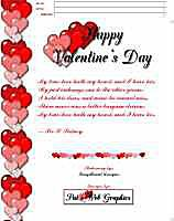 Top 8 Free Valentines Day Letters for IncrediMail