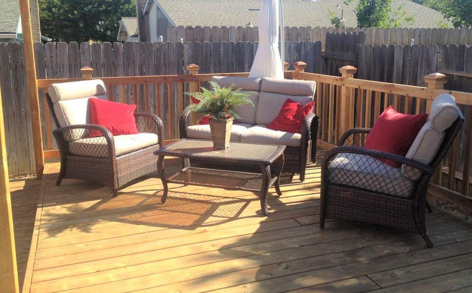 10 Beautiful DIY Backyard Decks on Diy Back Deck Ideas id=60995