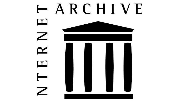 Screenshot of the internet archive logo