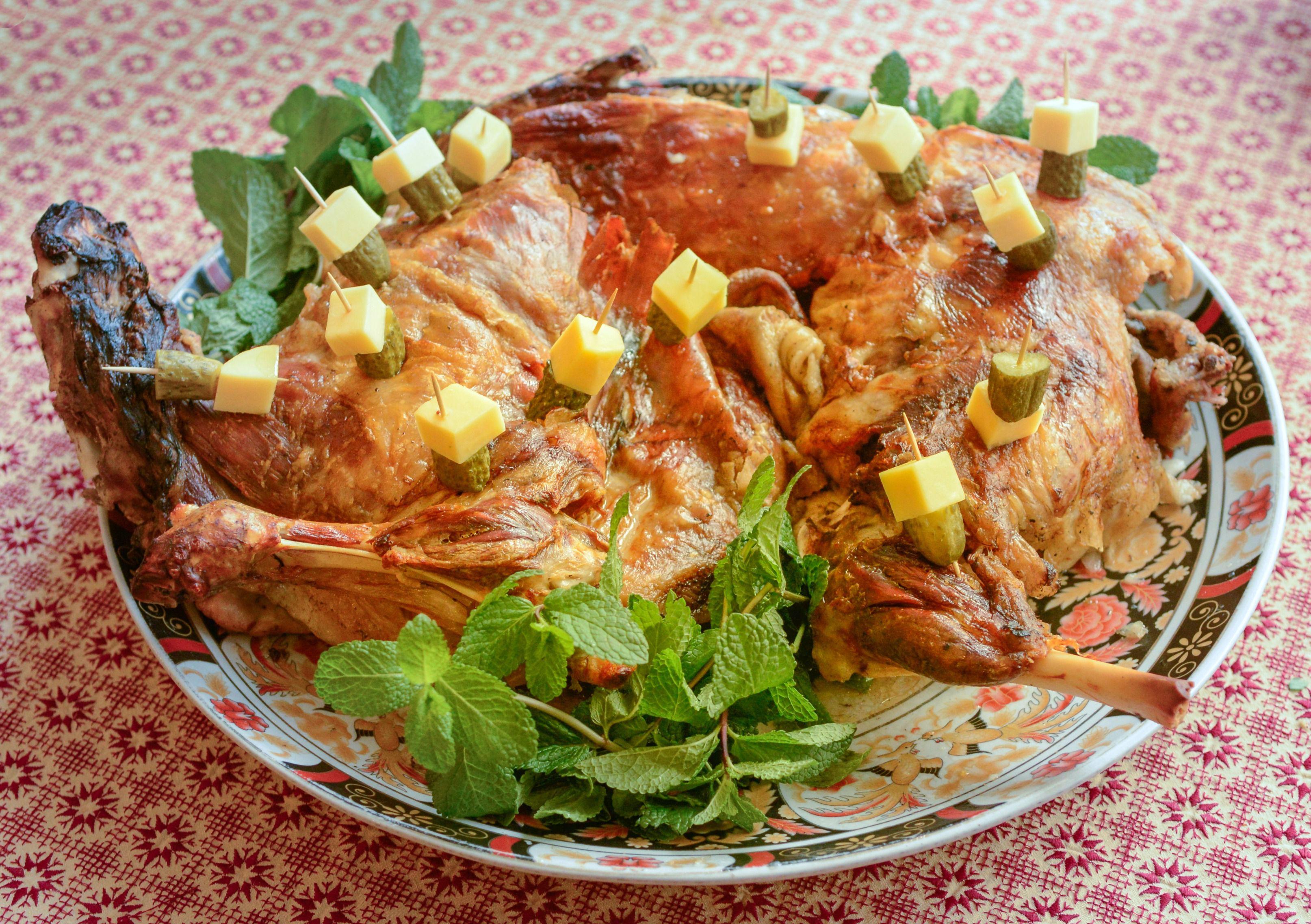 Moroccan Mechoui Recipe For Roased Leg Of Lamb