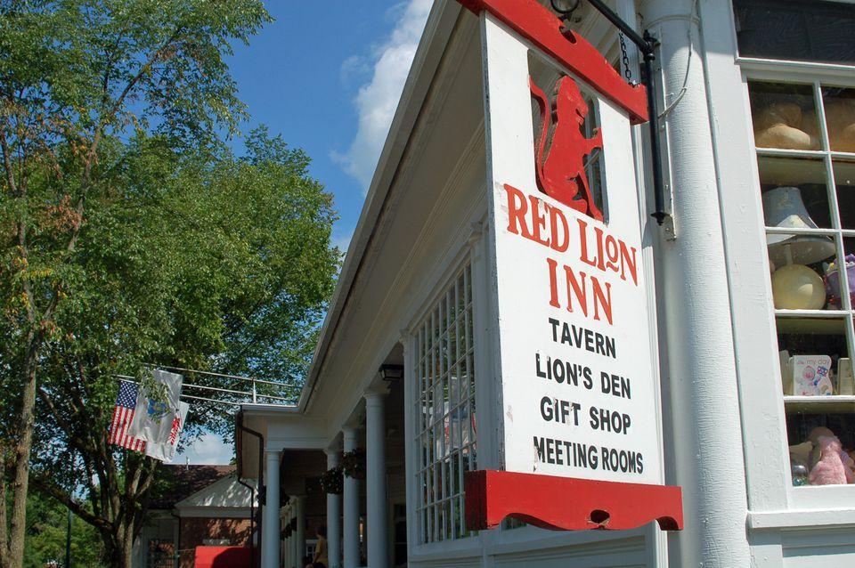 Red Lion Inn Massachusetts