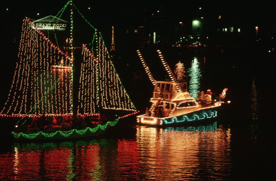 Eastport Yacht Club's Christmas Lights Parade