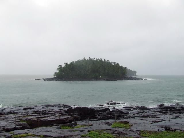 Devil's Island in South America