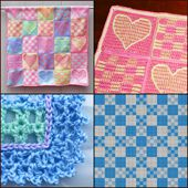 Free Patterns for Crocheting Baby Blankets
