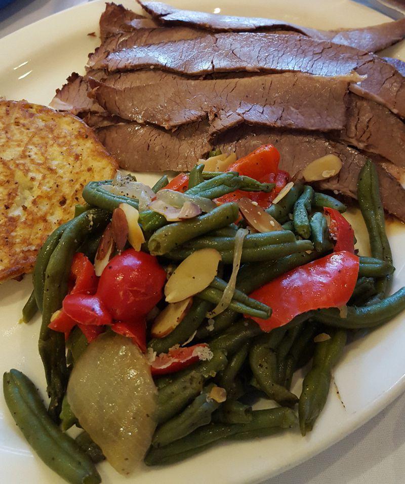 Brisket Dinner for Passover