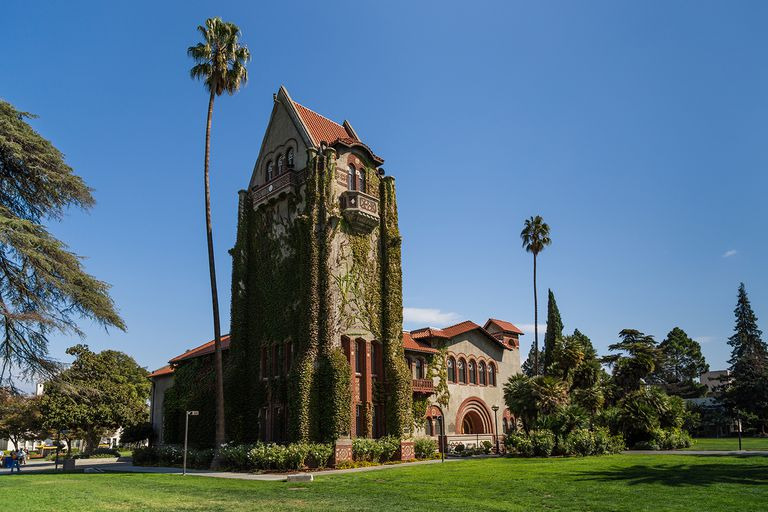 Tower Hall, San Jose State University, California.