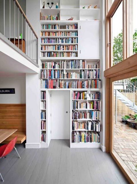 library home design. Two story home library Home Libraries  25 Stunning Design Ideas