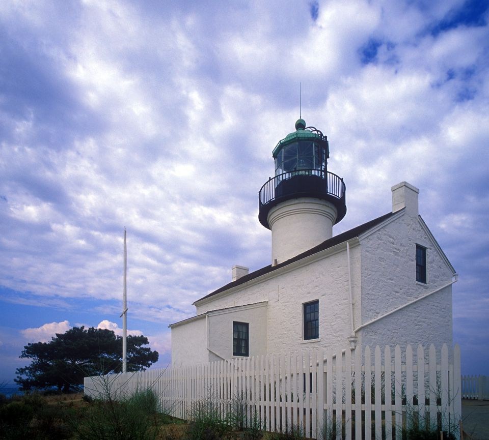 Point Loma Lighthouse at Cabrillo National Monument