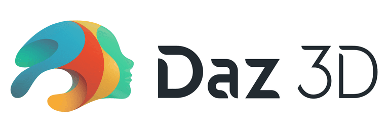 Screenshot of the Daz 3D logo