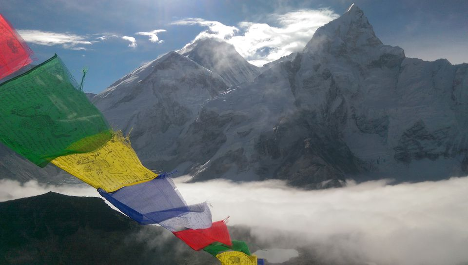 Mount Everest in South Asia