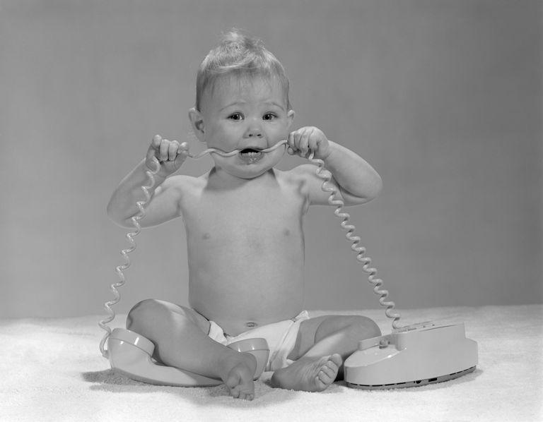 baby biting cord