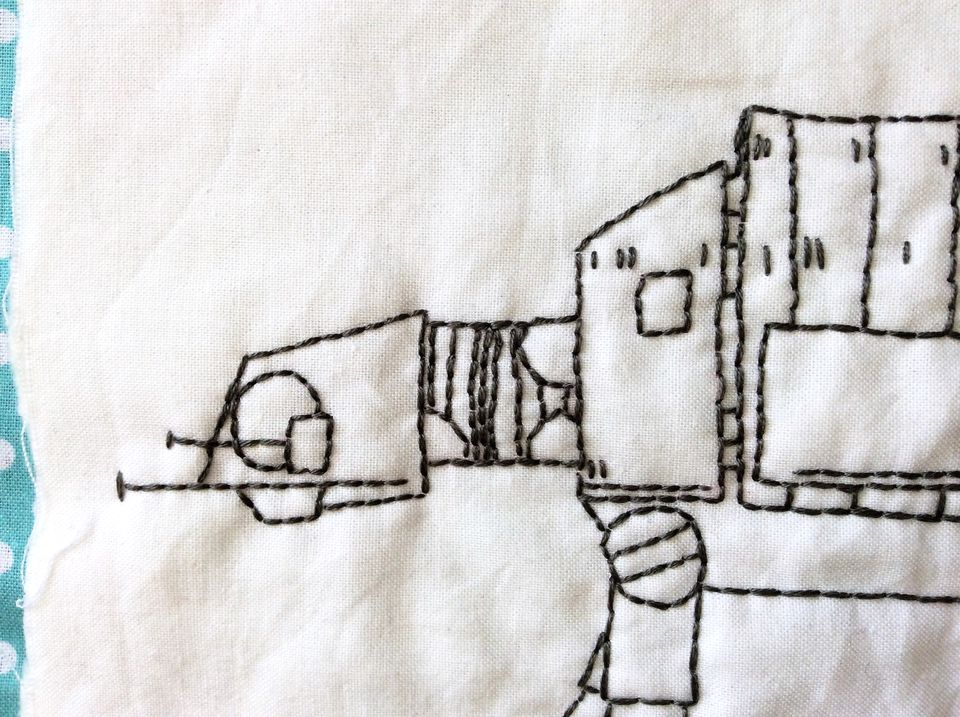 Hand embroidery patterns for geeks