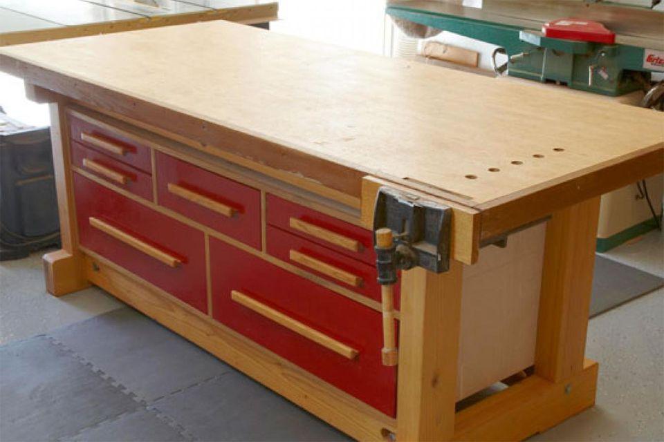 17 free workbench plans and diy designs - Workbench Design Ideas