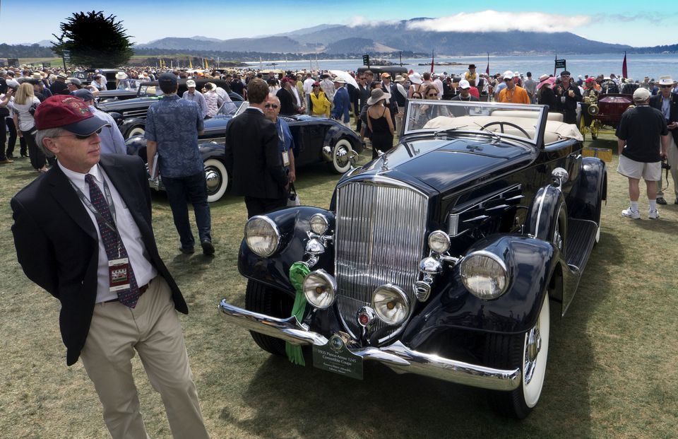 Classic Cars at the Pebble Beach Concours d'Elegance