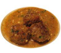 Albondigas con Salsa de Perejil - Meatballs in Parsley Sauce