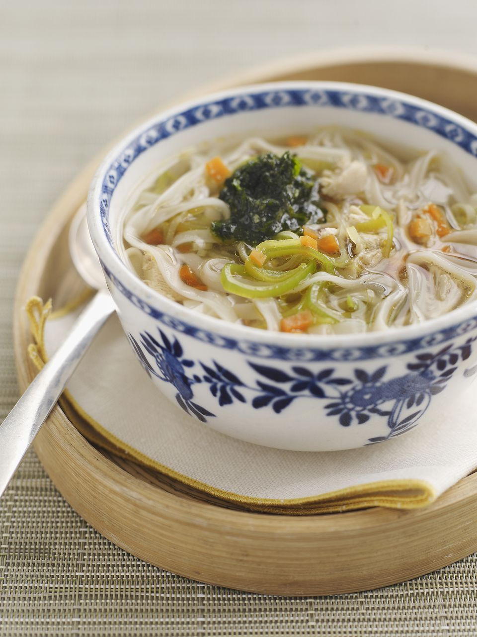 healing chinese soup with holistic value