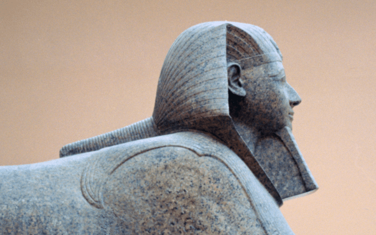 Sphinx with Hatshepsut's Face