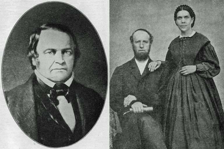 William Miller and James and Ellen White