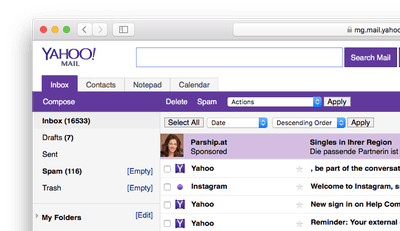 setup yahoo mail in outlook 2018