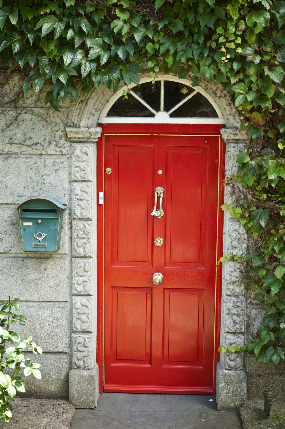 Red Front Doors. red front door A Picture Gallery of Red Front Doors