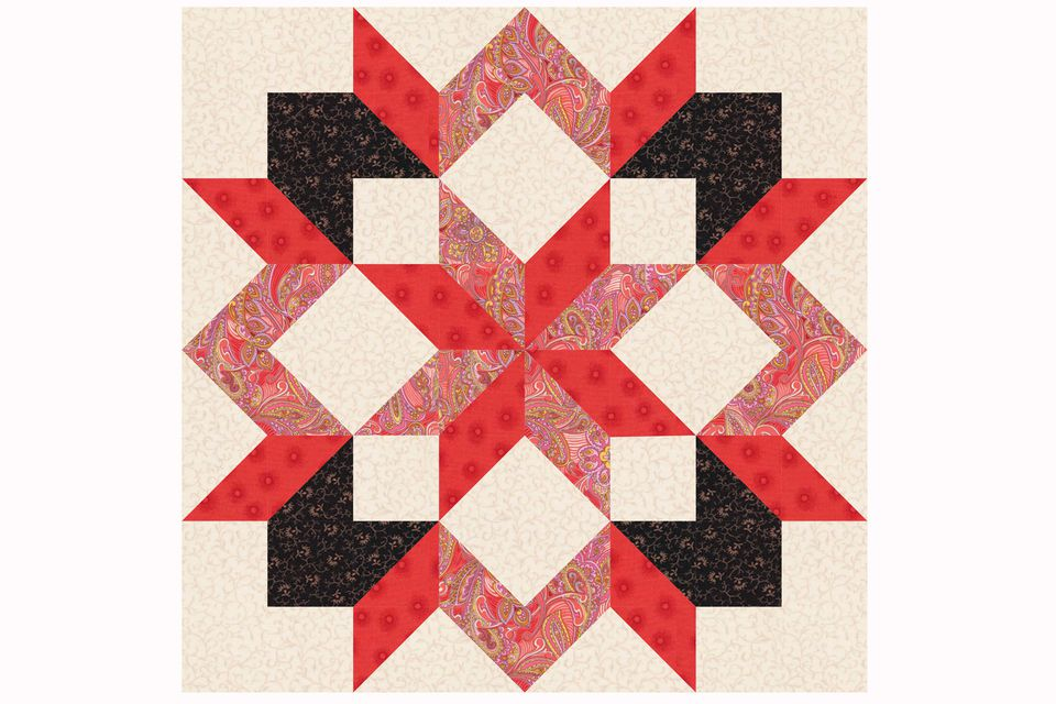 Star Quilt Block Pattern : quilted star pattern - Adamdwight.com